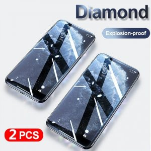 Diamond Curved iPhone Screen Protector