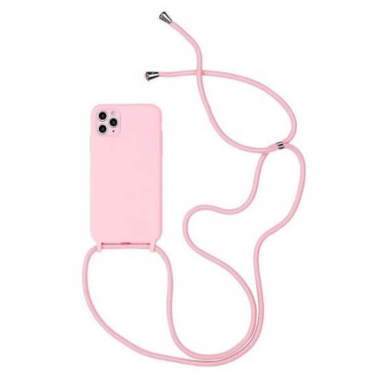 Pink phone Case With a Lanyard