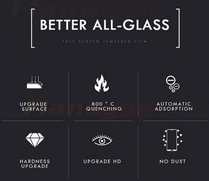 10 hardness Screen Protector Tempered Glass