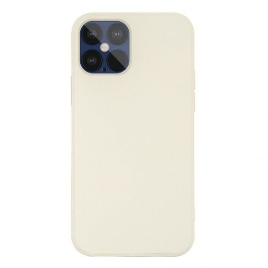 Beige Liquid Silicone iPhone 12 Mini Case
