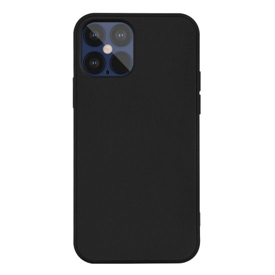Black Liquid Silicone iPhone 12 Mini Case