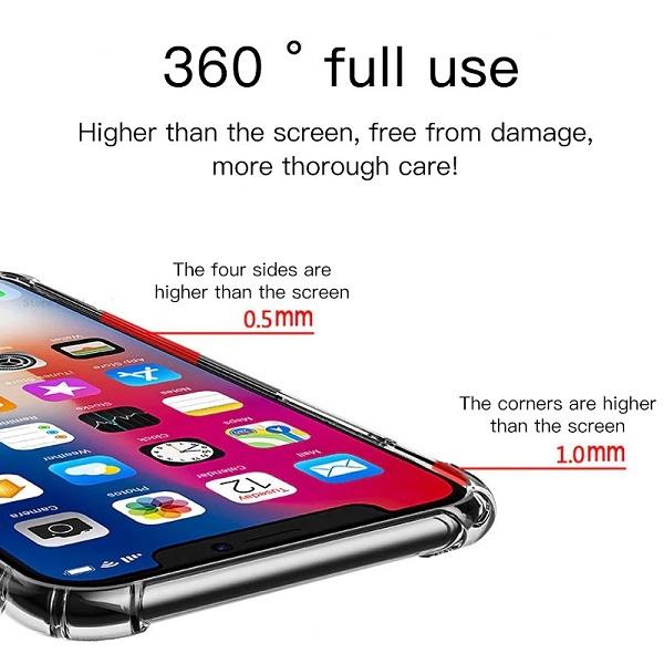 Bumper clear iPhone 12 case