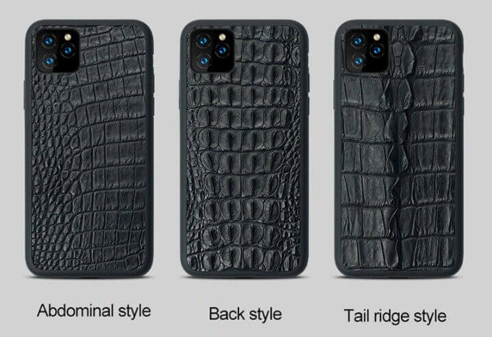 Real skin Croco iPhone case