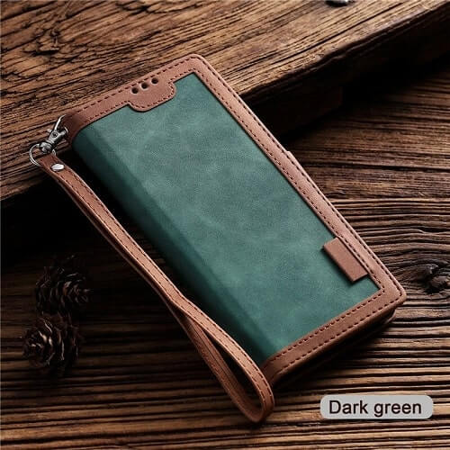 Dark Green Handmade Leather iPhone 11 Pro Case