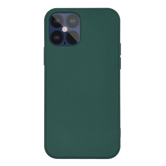 Dark Green Liquid Silicone iPhone 12 Mini Case
