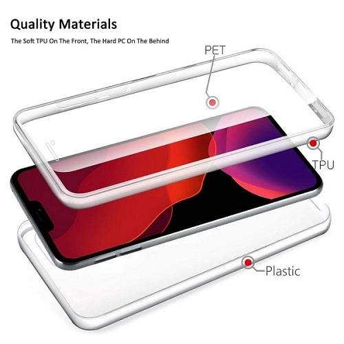 Soft TPU Double slid iPhone 12 Pro case
