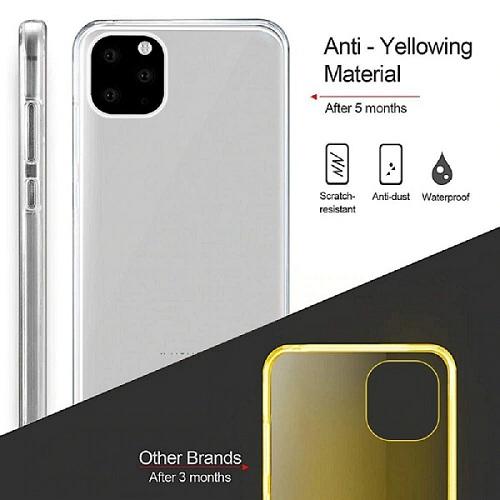 Transparent TPU Double slid iPhone 12 Pro case