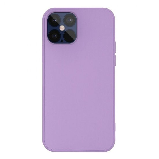 Grass Purple Liquid Silicone iPhone 12 Pro Case