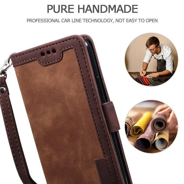 Handmade Leather Magnetic iPhone 11 Pro Case