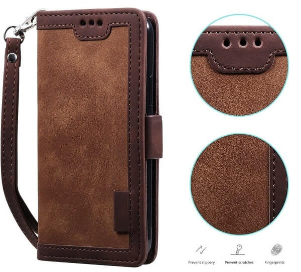 Handmade Leather Magnetic iPhone 11 Pro Max Case