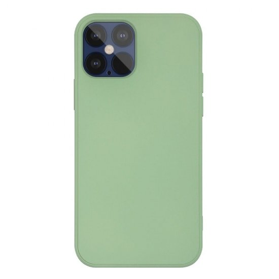 Mint Green Liquid Silicone iPhone 12 Pro Case