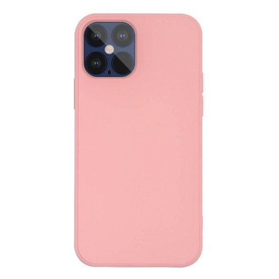 Pink Liquid Silicone iPhone 12 Pro Case