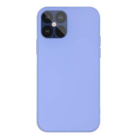 Purple Liquid Silicone iPhone 12 Case