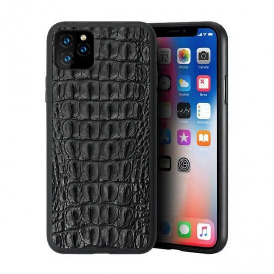 Real Crocodile Skin Phone Case