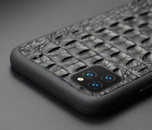 Real Crocodile Skin iPhone Case