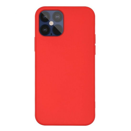 Red Liquid Silicone iPhone 12 Pro Max Case