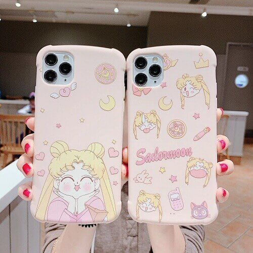 Sailor Moon Phone Case With Holder