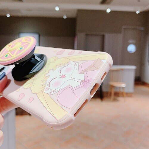 Sailor Moon iPhone Case With Pop Holder