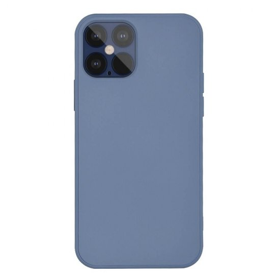 Space Gray iquid Liquid Silicone iPhone 12 Pro Max Case