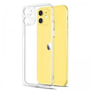 Ultra-Thin Clear phone Case with camera lens protection for iPhone
