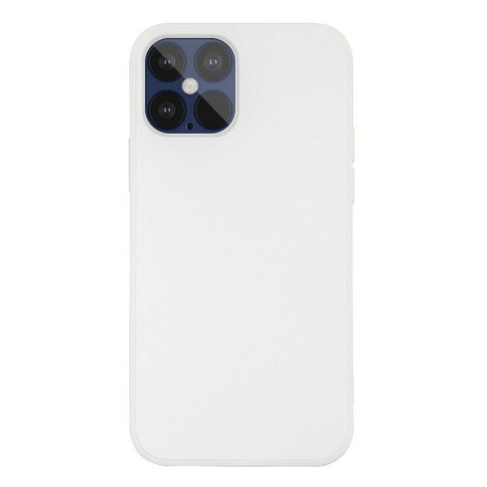 White Liquid Silicone iPhone 12 Pro Max Case