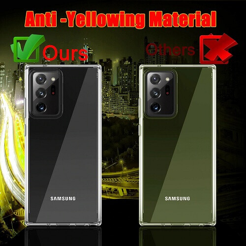 anti-yellowing clear phone case for samsung galaxy s10 Pllus
