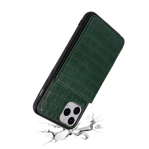 iPhone 11 Pro Max crocodile wallet case