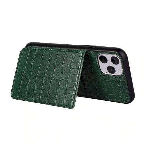 iPhone crocodile wallet case