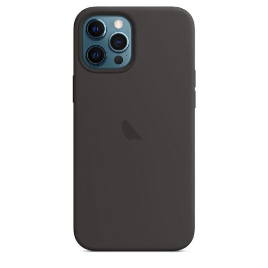 Black candy color silicone iPhone case