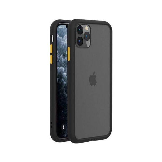 Black-yellow Anti-Shock Bumper iPhone Case