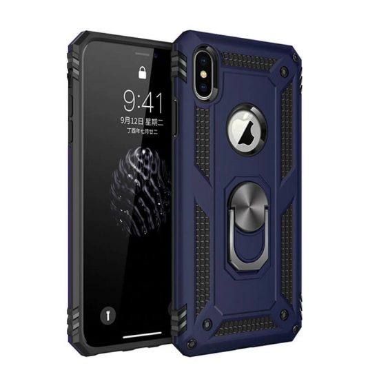 Blue Military Grade Phone Case