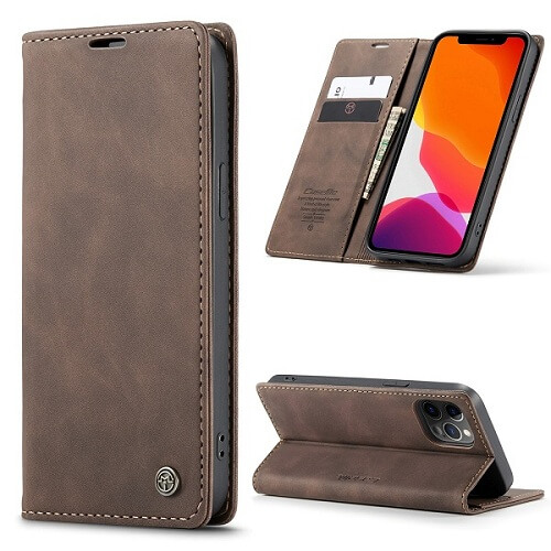 Camel Magnetic Wallet iPhone 12 Pro Max Case