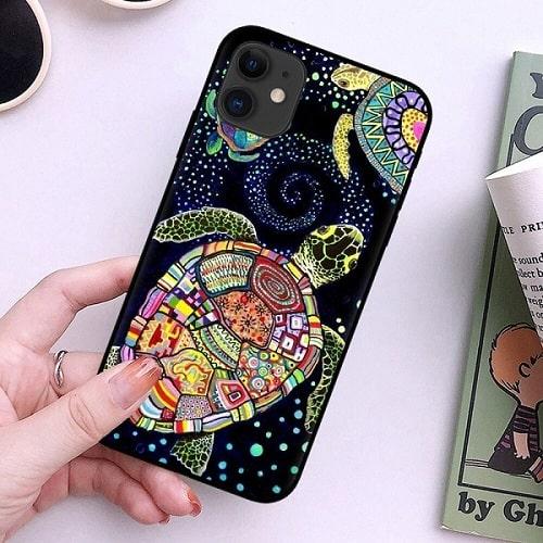 Cute Turtle iPhone Case