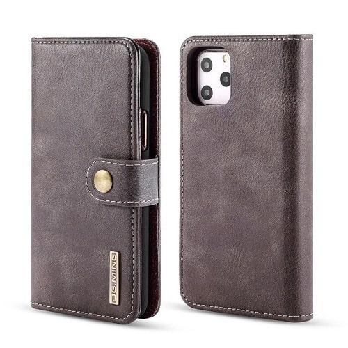 Gray iPhone 12 Pro Detachable Wallet Case