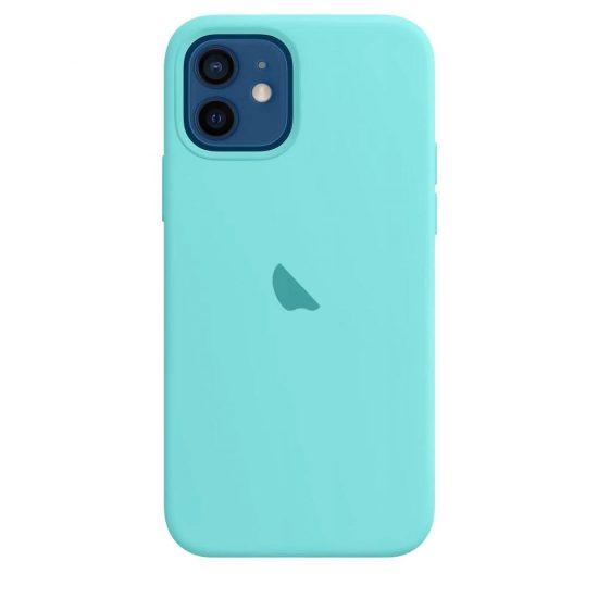 Ice blue Original Liquid Silicone iPhone Case