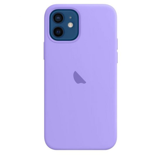 Light Purle candy color silicone iPhone case