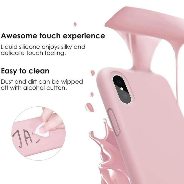 Liquid Silicone iPhone Case