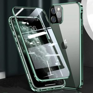 Magnetic Adsorption Metal iPhone 12 Pro Case