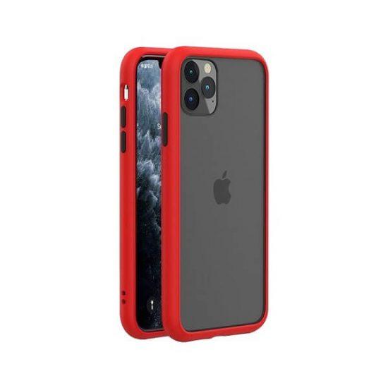 Red-Black Shockproof Bumper iPhone Case