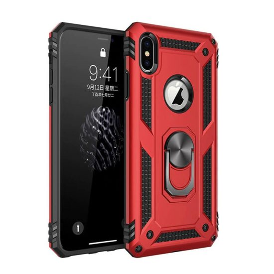 Red Military Grade Phone Case