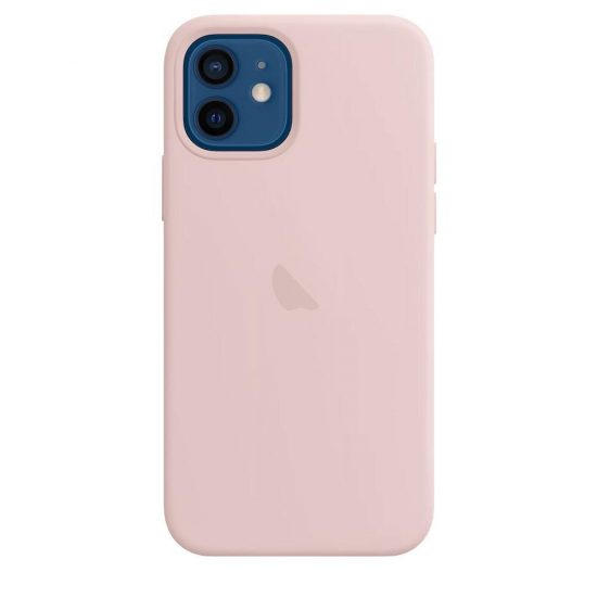 Sand Pink silicone iphone case