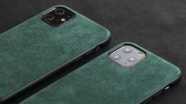 alcantara case for iPhone 12