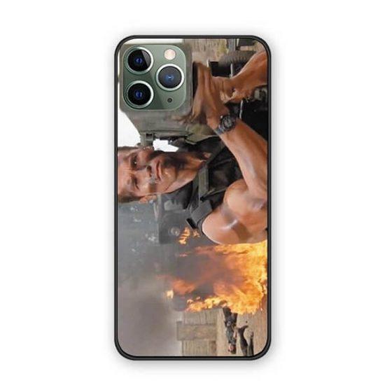 arnold schwarzenegger commando iphone case