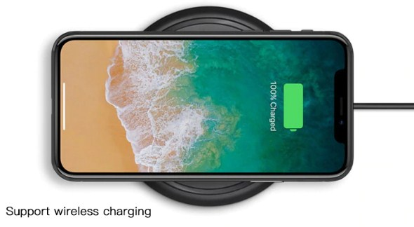 iPhone 12 alcantara case that support wireless charging