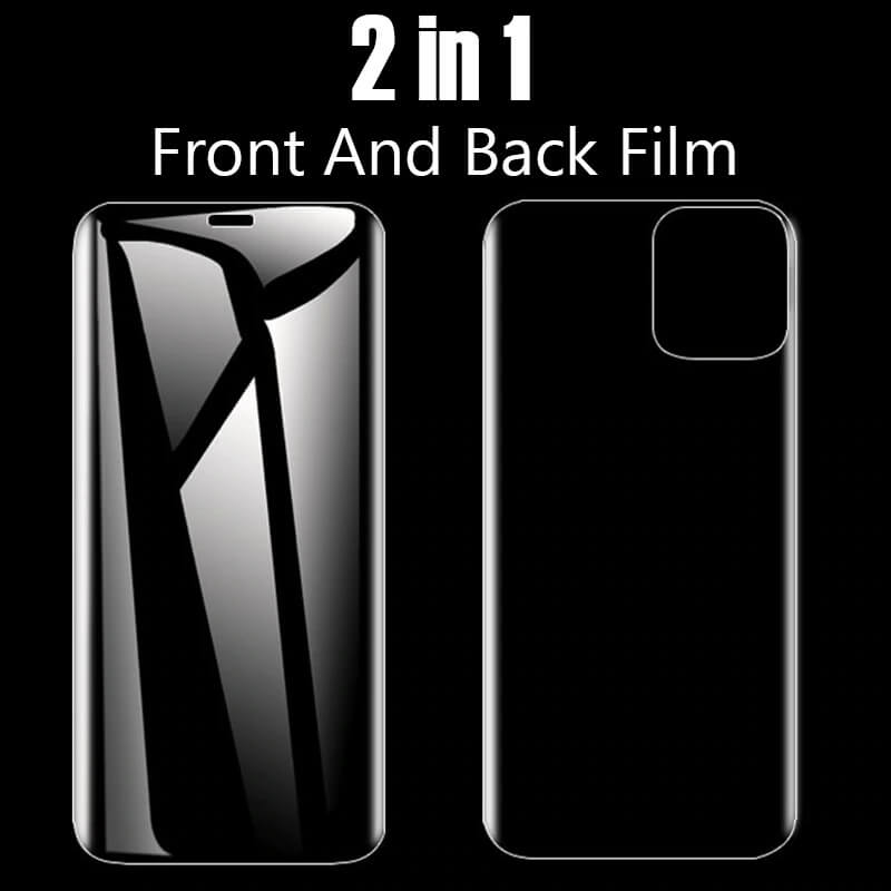 3-in-1 iPhone Screen Protector - camera lens protection