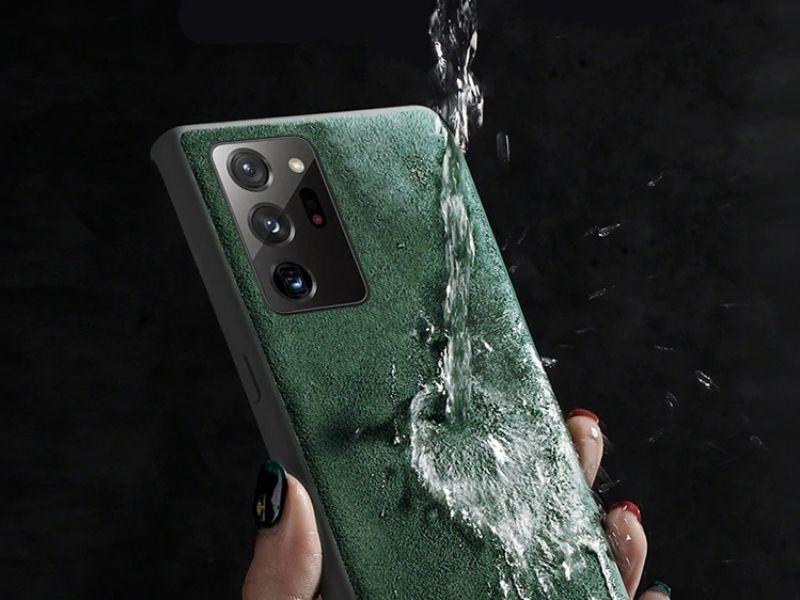 How to clean Alcantara phone case
