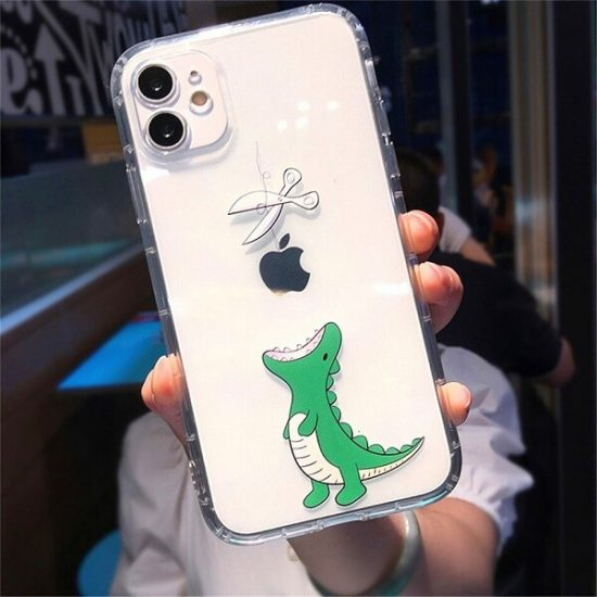 Hungry Dino iPhone Case