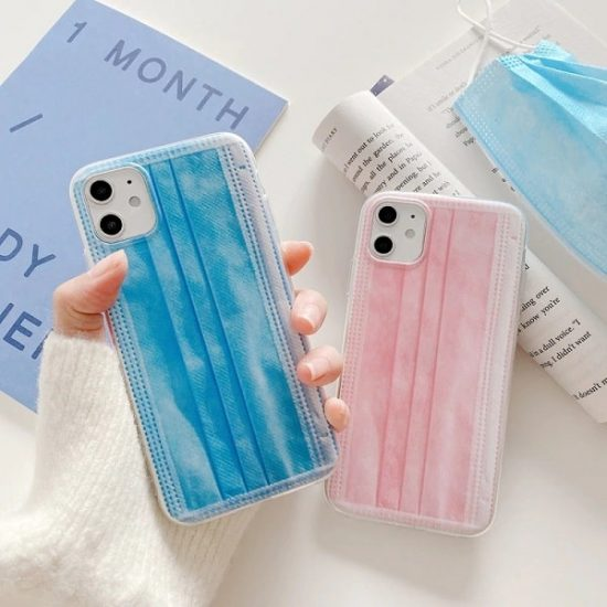 face mask iPhone case