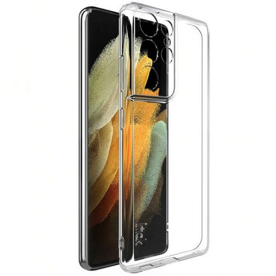Clear Samsung Galaxy S21 Ultra Case With Lens Cover