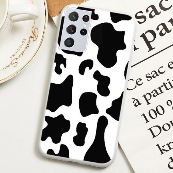 Cow print Samsung Galaxy S21 Ultra case